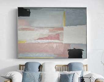 Modern abstraction Original Painting Texture  Canvas Wall Painting For Living Room Contemporary Art Hand Art Oversize Painting