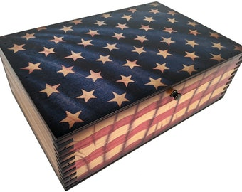 US Flag Box
