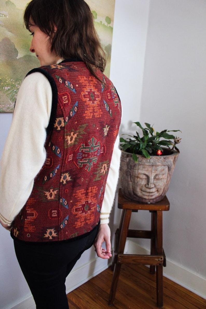Navajo Southwestern Stonebridge Button-up Vest