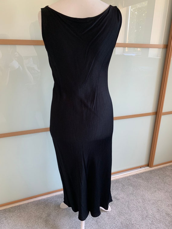 Vintage 1990s PLANET black slip dress - image 4