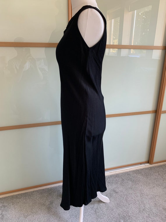 Vintage 1990s PLANET black slip dress - image 3