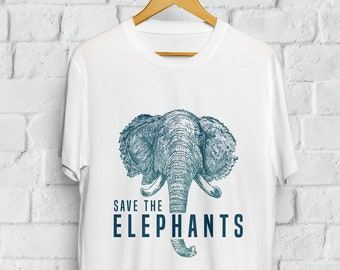 d35305deb27c Save The Elephants Shirt
