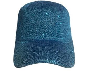 Sequin baseball cap  c953537b8e80