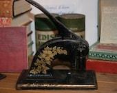 Antique Stamp Seal press Machine Victorian