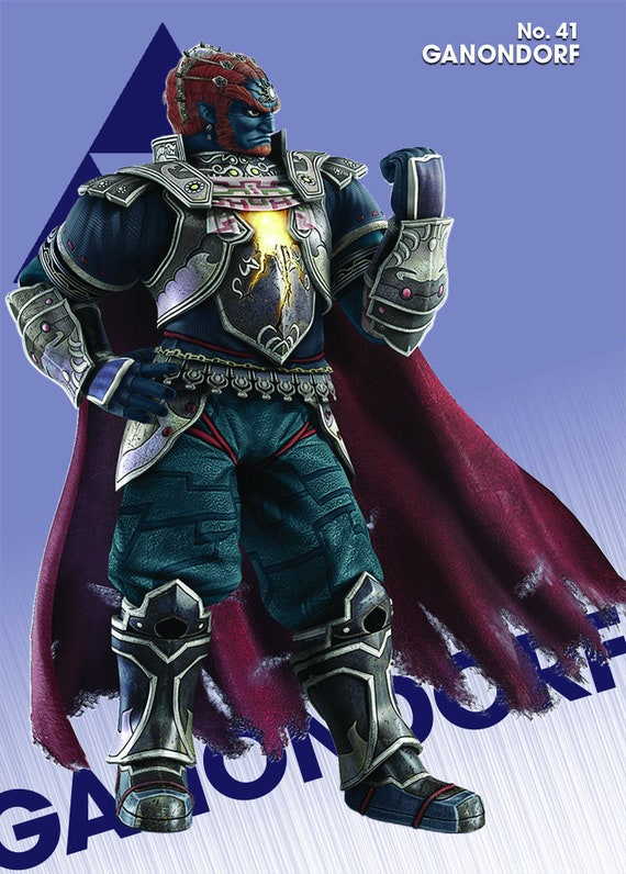 Ganondorf Amiibo Card Super Smash Bros Ultimate Multiple Artworks For Each Character All Available Nfc Tag Cheat Card Great Multi Buy