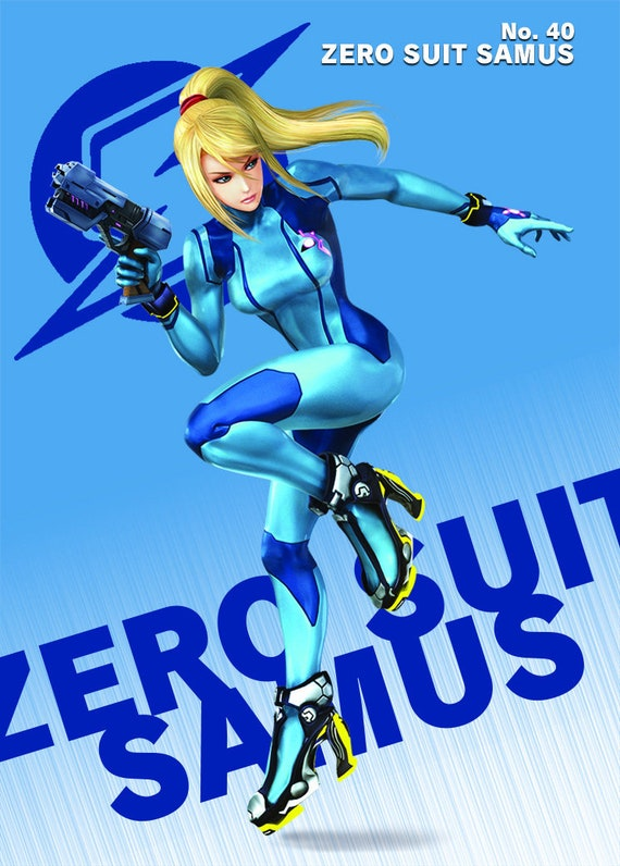 Zero Suit Samus Amiibo Card Super Smash Bros Ultimate Multiple Artworks For Each Character All Available Nfc Tag Cheat Card Grat Multi Buy