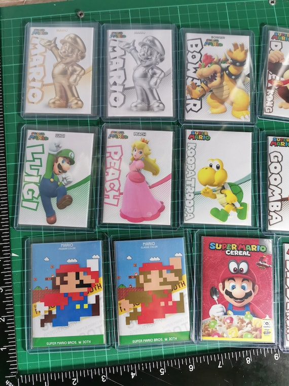 Super Mario Series Amiibo Cards Nfc Cheat Tag Cards Does Same As Amiibo Multi Deals In Stock Now