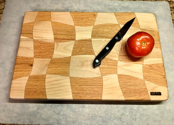 SALE! Butcher Block Cutting board, hardwood for long life. Pre finished ready to use. Made in Pa. Great gift. A D&G original Size Medium