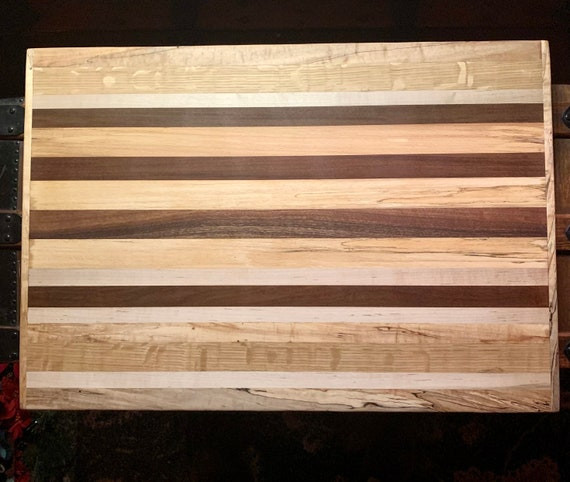 """1*SALE* Professional """"SFP"""" XL Cutting Board. Face grain hardwoods. For the Chef in Your House!          #1"""