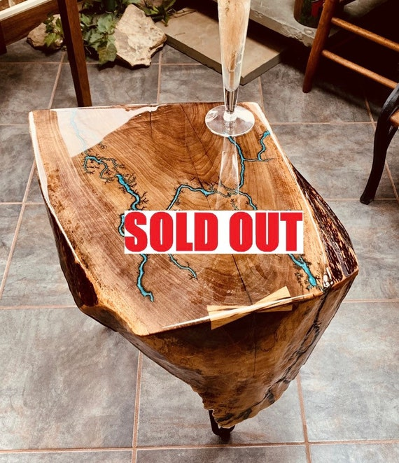 SOLD. Sorry this item Sold almost immediately. We are taking ordes Now for custom tables , Your design or Ours. Lichtenberg Art Table.