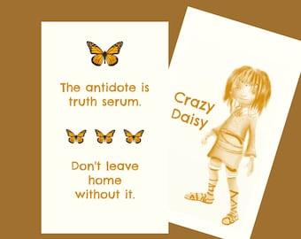 Crasy Daisy Inspirational Card Deck