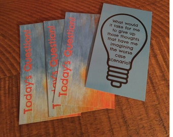 Today's Question Inspiration Cards