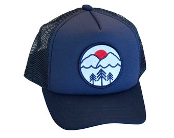 6a01014f9d160 Pacific Northwest baby and toddler hat. Pac NW kids trucker hat. Snapback  hat