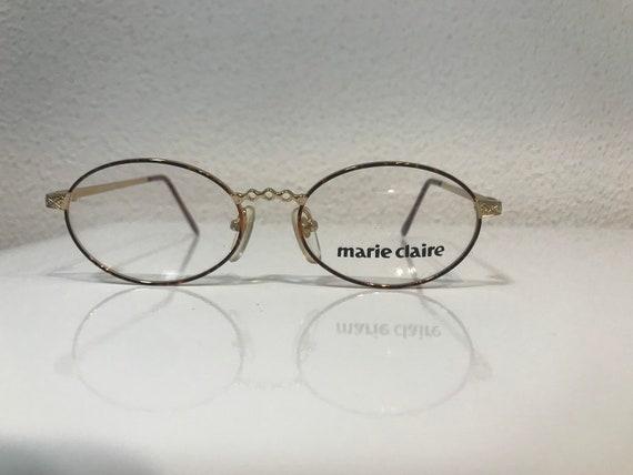 Vintage glasses Marie Claire