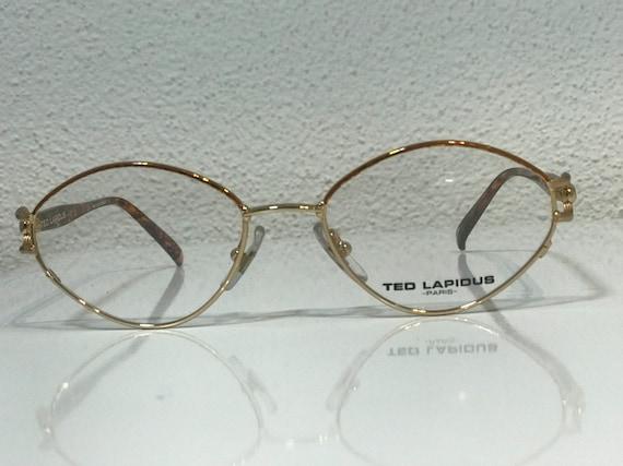 Ted Lapidus vintage glasses
