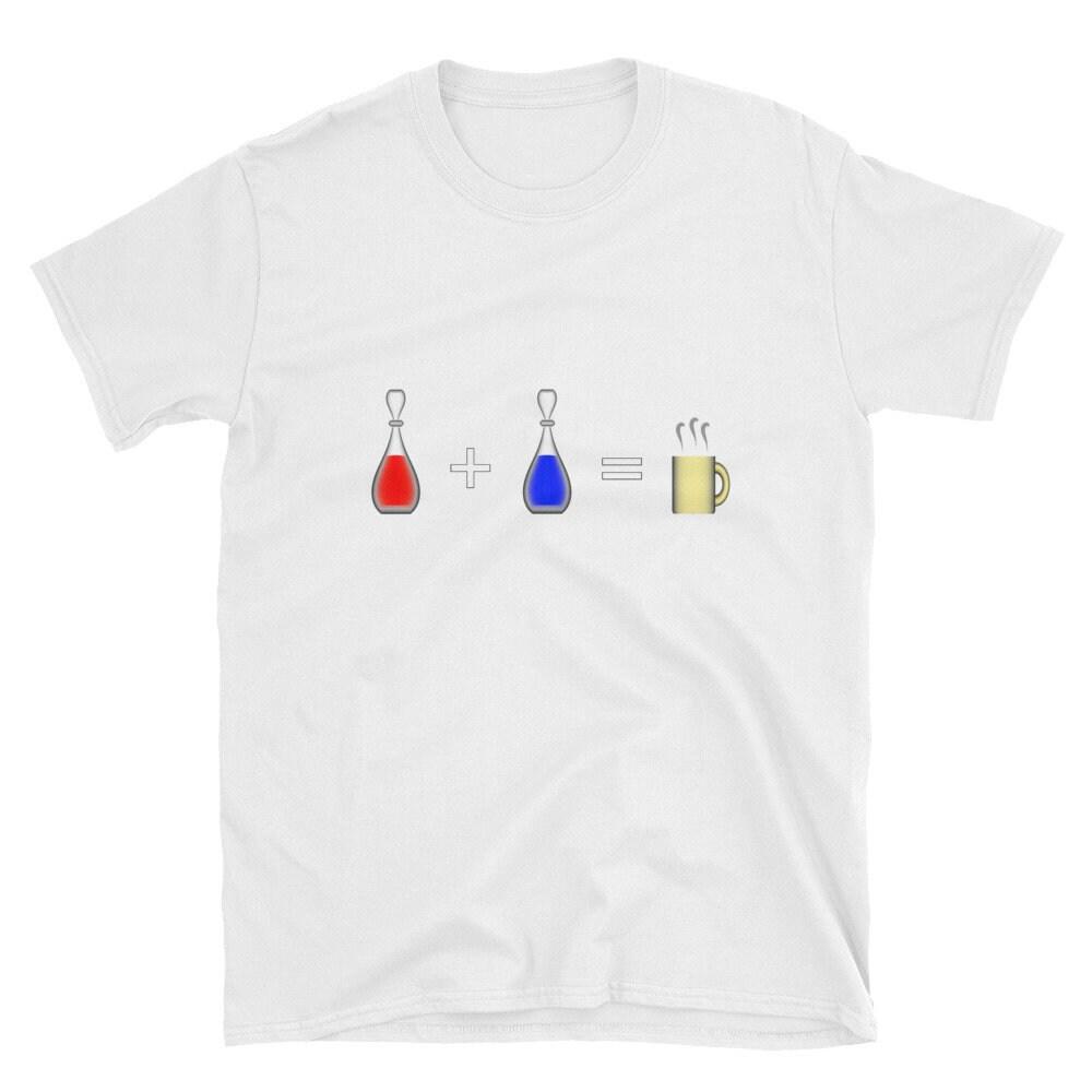 359c5f379013 Santé + Mana   café manches courtes T-Shirt T-Shirt T-Shirt unisexe ...