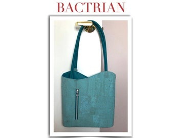 BACTRIAN - Pattern for a convertible shoulder bag