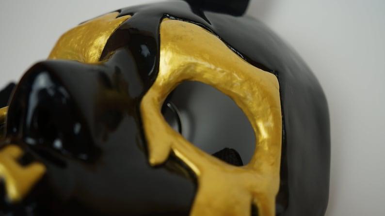version black J-Dog FIVE mask