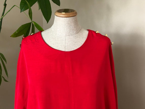 Vintage cocoon style dress, casual dress, loose fi