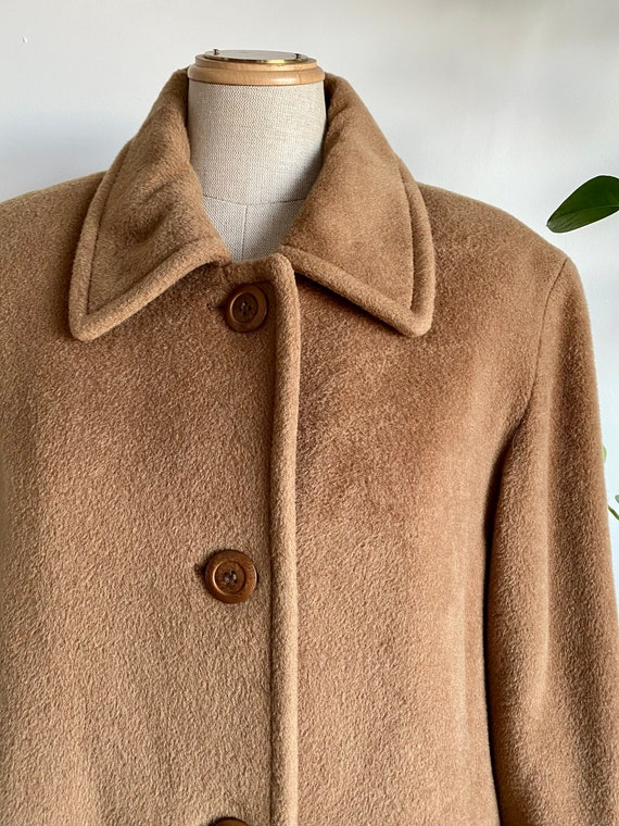 Vintage Wool blend teddy bear coat