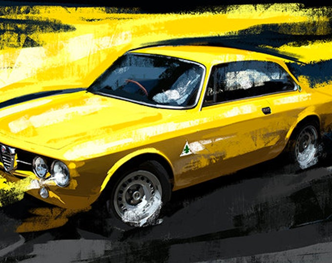 Ford Mustang Muscle Car Giant Wall Art Poster Print