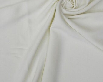 36d830a62f50 Ivory Crepe Fabric-Seventh Ave-Crepe Fabric-Spandex Crepe-Stretch Crepe  Fabric-Stretch Crepe-Polyester Fabric-Polyester Crepe