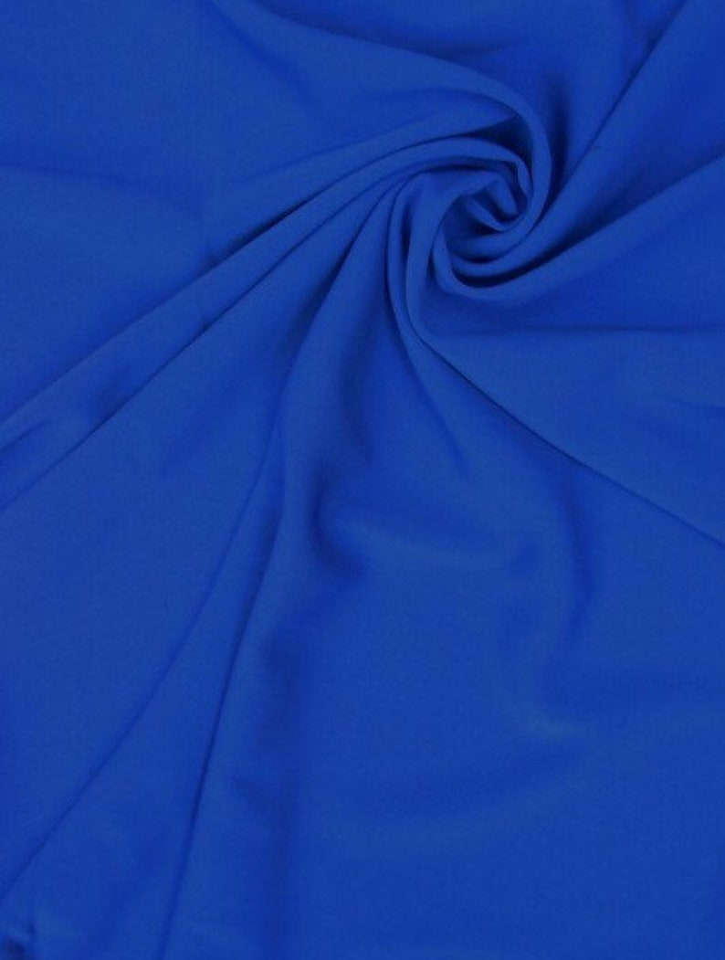Royal Crepe Fabric-Seventh Ave-Crepe Fabric-Spandex Crepe-Stretch Crepe Fabric-Stretch Crepe-Polyester Fabric-Polyester Crepe