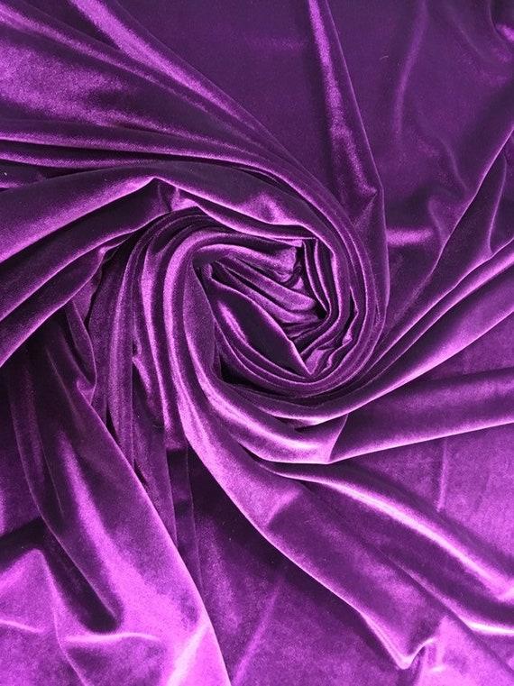 Coral Spandex Velvet-Pink Spandex Velvet-Spandex Velvet-Velvet Fabric-Velour Fabric-Stretch Velvet-Polyester Velvet-Knit Fabric-Velveteen