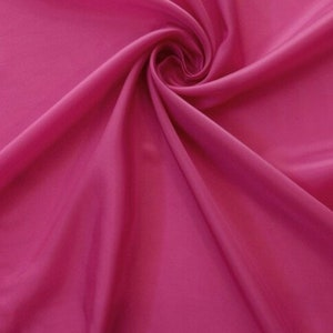 100/% Rayon Society Vintage Satin Ribbon in Cerise Pink Price is per Yard 2 38 inches wide Made in France