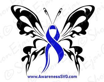 Colon Cancer Ribbon Etsy