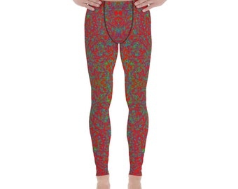 Ugly Christmas Sweater 1, Men's Leggings
