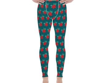 Ugly Christmas Sweater Men's Leggings #9