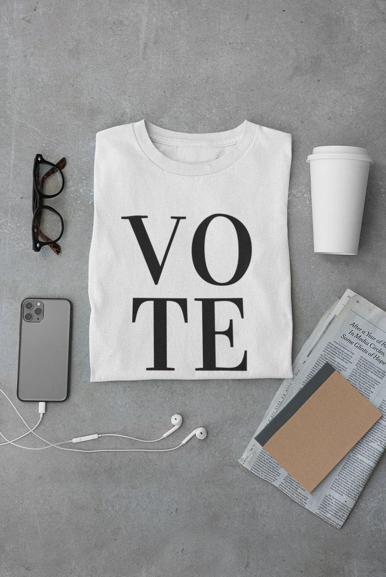 Vote Tshirt Vote 2020 image 0