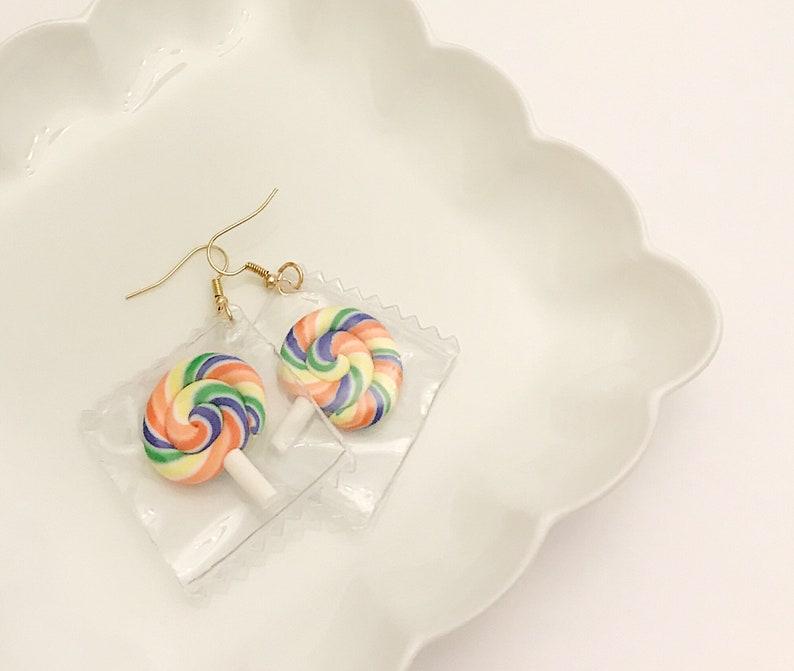 7dfa8e5e56 Free Shipping Handmade Unique Colorful Earrings. Drop Earrings. Candy  Earrings. Gifts. Pinapple Earrings. Light Earrings. Cute Earrings.