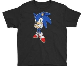 b2cd2f38 Sonic the hedgehog Youth Short Sleeve T-Shirt