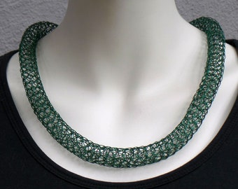 Very decorative and exclusive chain made of jewelry wire