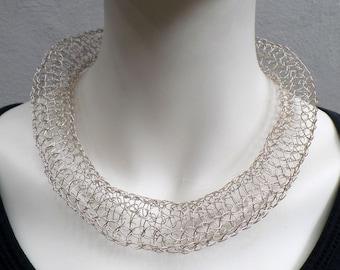 Exclusive silver wire chain (925)