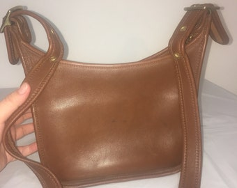 Vintage Coach Janice Legacy 9950 Brown Leather Bag f3bce469d7157