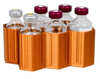 Insulin Caddy Honeycomb Design Holds 6, 8, 9, of 12 Vials