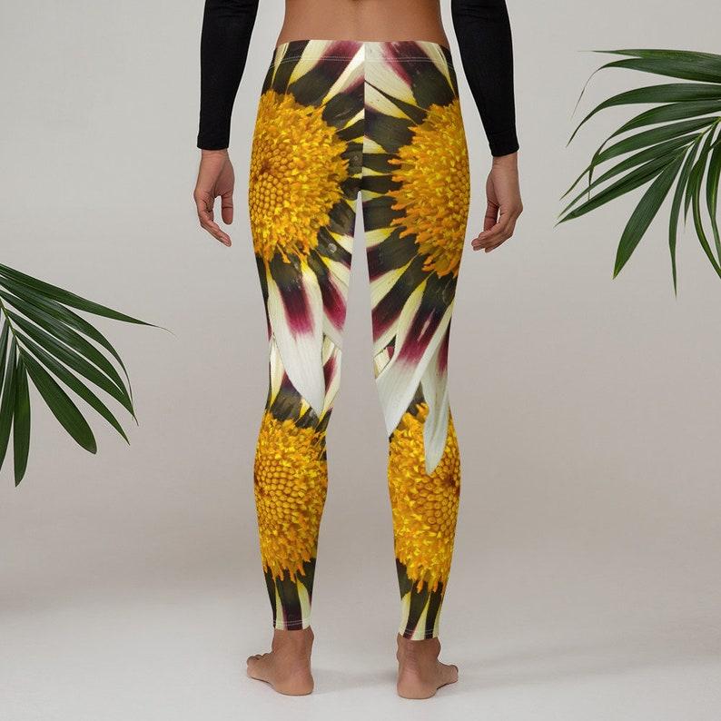 Multi-colored floral Leggings