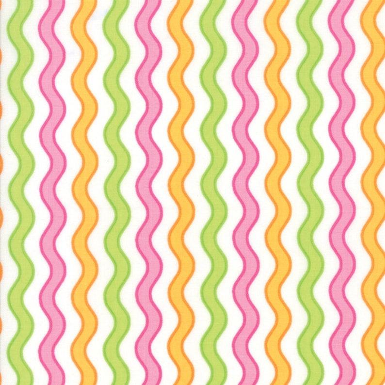 Confetti Collection Wavy Stripes Multi