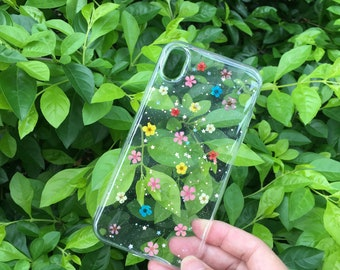 c0f83d6fc81 Pressed flower phone case