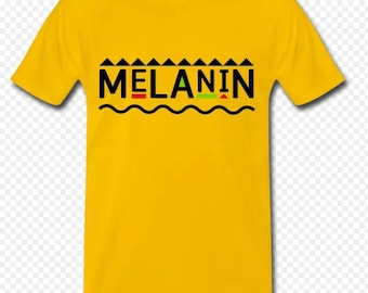 85c13e686428 melanin T-shirt. CrownedTrinity. 3.5 out of ...