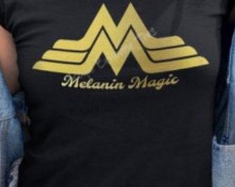 c4664ca1b259 wonder woman style Melanin Magic Women T-shirt. CrownedTrinity. 3.5 out of  ...