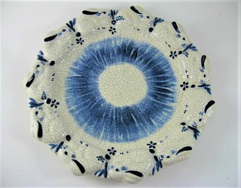Ohi Chozaemon Art Plate 20cm WBOX