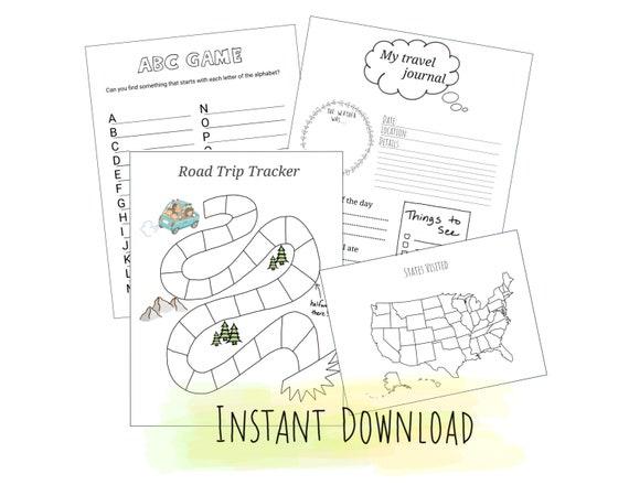 Childrens Travel-Trip Tracker