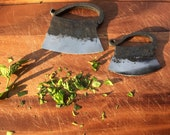 Hand-forged weighing knife/herb knife