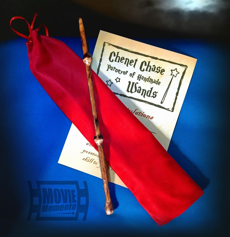 Potentia Wand  Personalised handmade gift set for Wizards or image 0