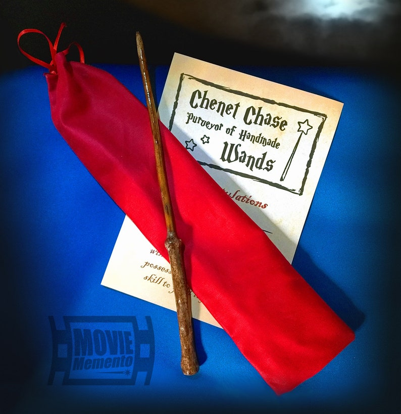 Fiducia Wand  Personalised handmade gift set for Wizards or image 0