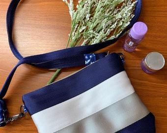 Custom Seatbelt Crossbody Slim Bag  - Super Comfortable Slim Crossbody Bag  - design your own (MP)